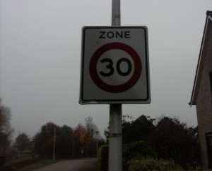 30 kilometer zone naleving met marketing mogelijk