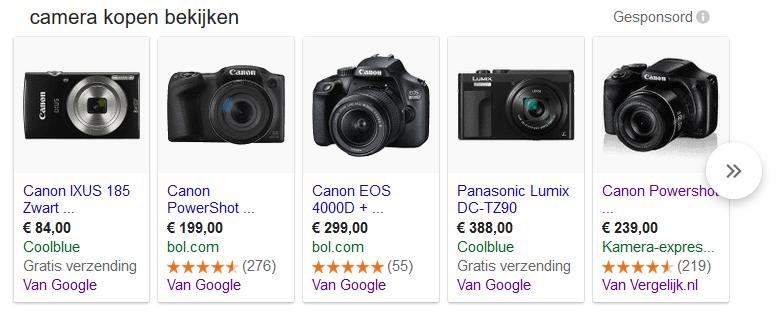Google shopping als alternatief voor online vergelijkers online